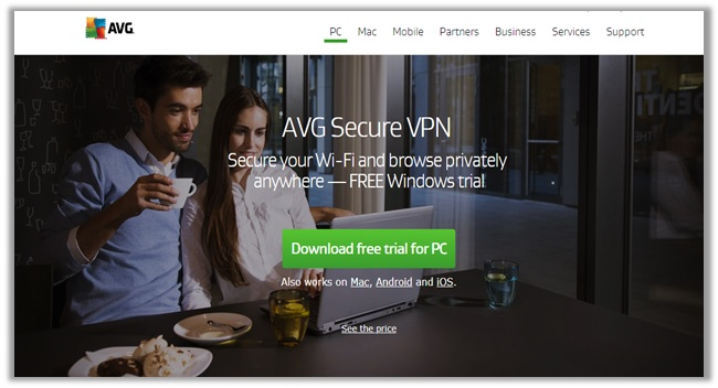 AVG Secure VPN Compatibility
