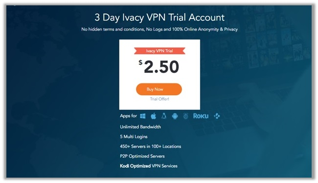 Ivacy Paid Trial