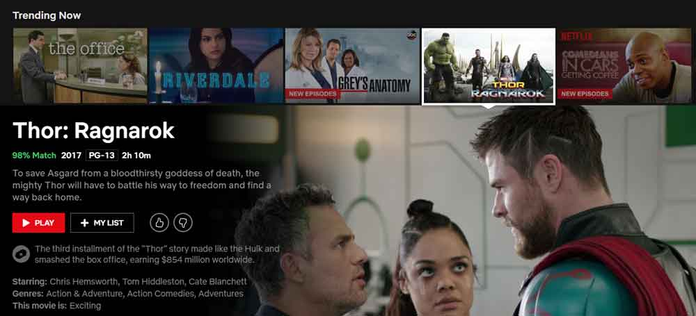 Netflix arbeitet am Newyork Server